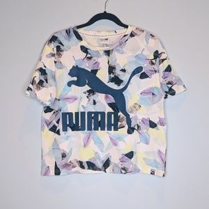 Puma Crop Top Tee Shirt